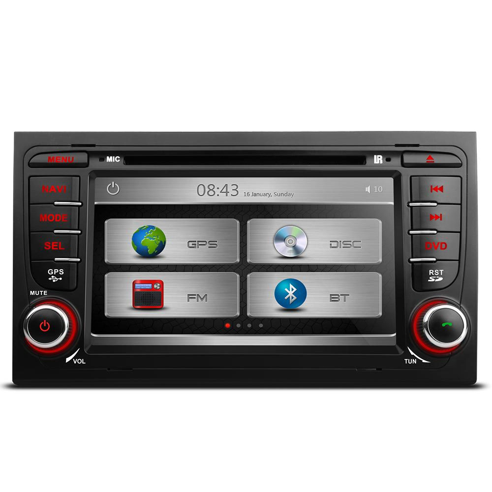 audi a4 seat exeo stereo dab digital radio kudos satnav. Black Bedroom Furniture Sets. Home Design Ideas