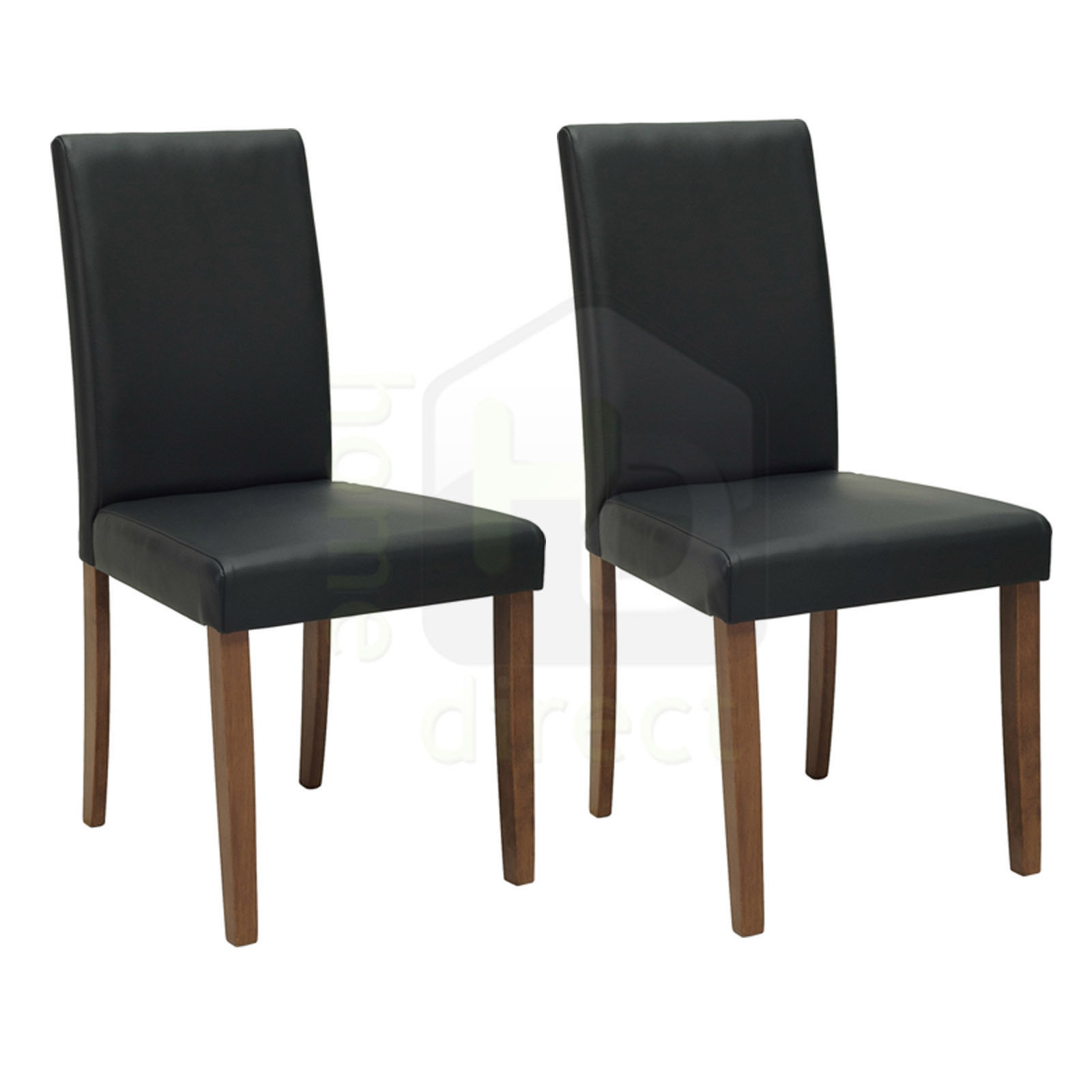 2x lenore modern danish fabric scandinavian retro lounge dining chair
