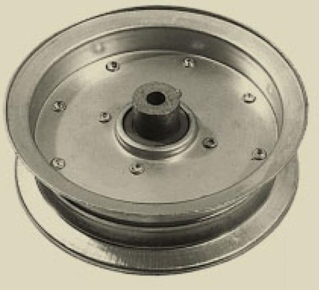 Rope Idler Pulley : Replacement deck flat idler pulley for mtd quot