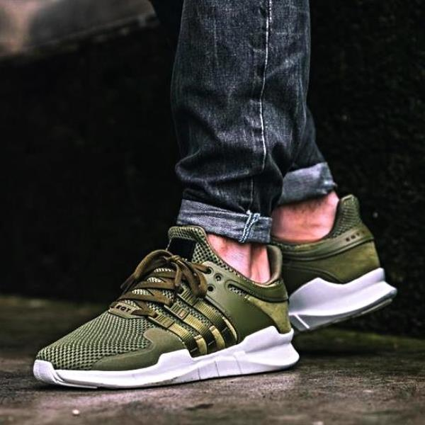 adidas EQT Support ADV Black / Sub Green / Solid Grey Kith NYC