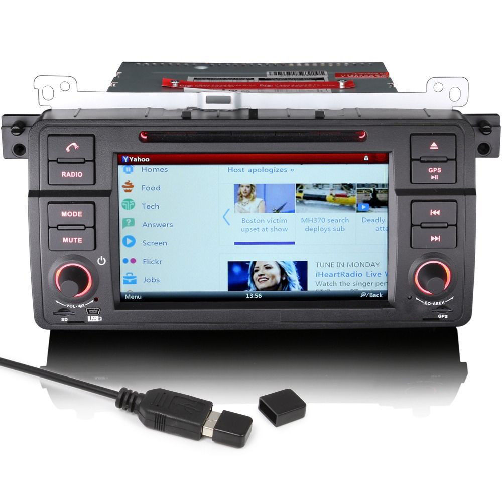 171096035544 8 bmw 3 series e46 m3 satnav gps car stereo bluetooth usb dvd ipod E46 Sunroof Wiring-Diagram at highcare.asia