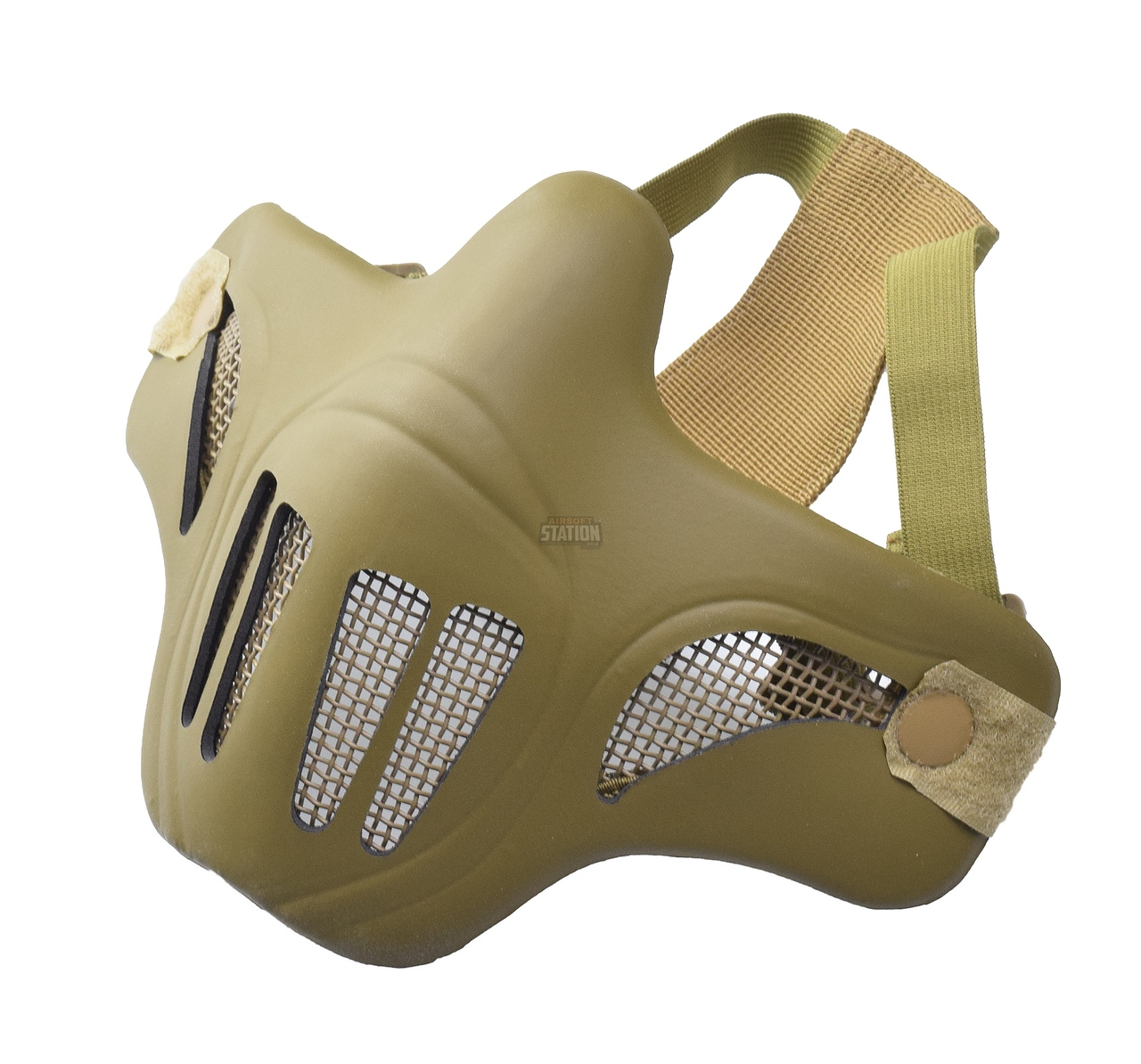 Ghost Recon Style Steel Mesh Half Face Mask for Airsoft, Tan | eBay