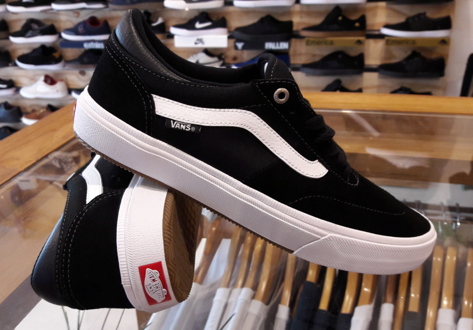 Vans Shoes Crockett Pro 2 Black White FREE POST New USA Size Skateboard Sneakers