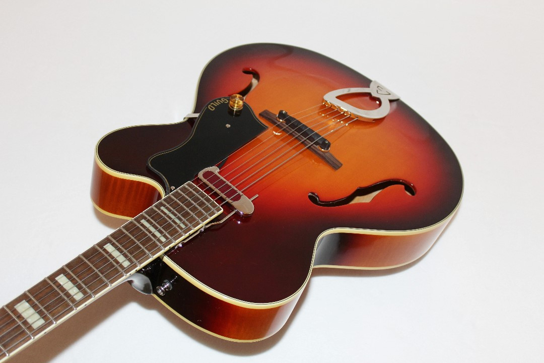 guild a 150 savoy hollowbody archtop electric guitar ebay. Black Bedroom Furniture Sets. Home Design Ideas