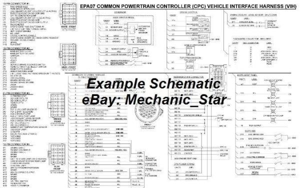 ddec iv wiring diagram series 60 ddec image wiring detroit series 60 ddec iii iv v vi wiring diagram schematic cd on ddec iv wiring