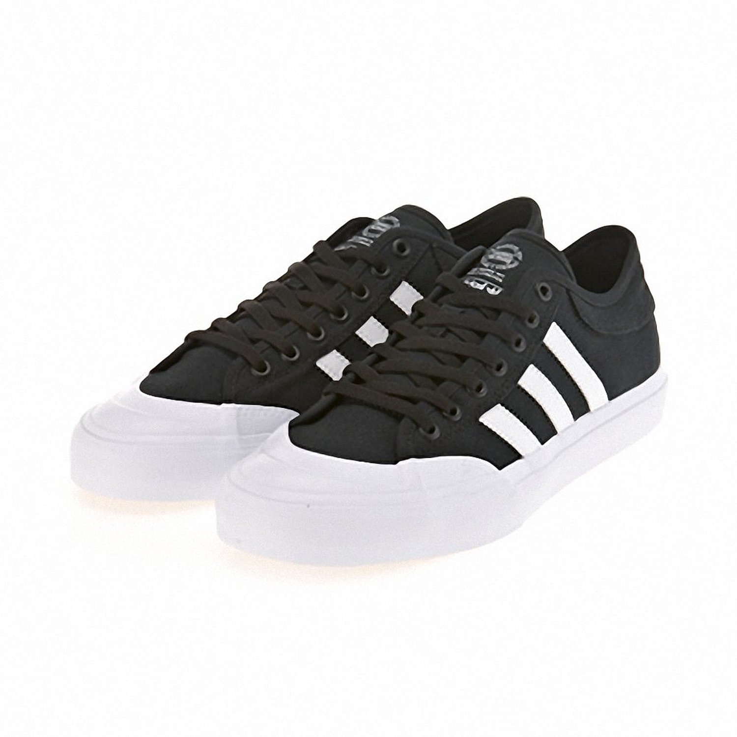 Adidas Originals Shoes Matchcourt Black White FTW Black Skateboard Sneakers