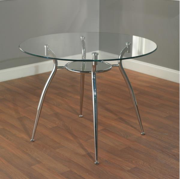 contemporary dining room furniture tempered glass top
