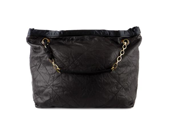Lanvin Amalia Quilted Leather Shopping Tote Bag