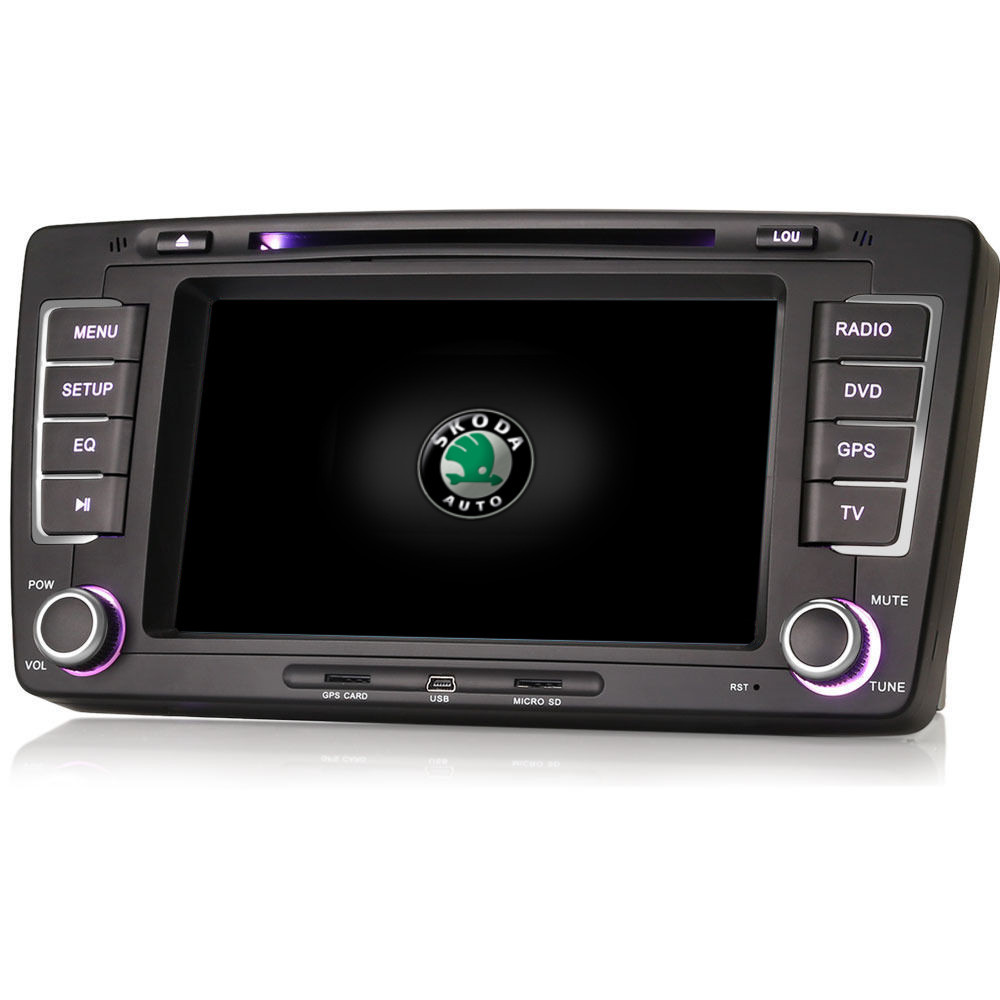 skoda octavia superb fabia stereo gps satnav internet bluetooth iphone radio dvd ebay. Black Bedroom Furniture Sets. Home Design Ideas