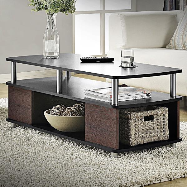 CONTEMPORARY COFFEE TABLE LIVING ROOM FURNITURE STORAGE