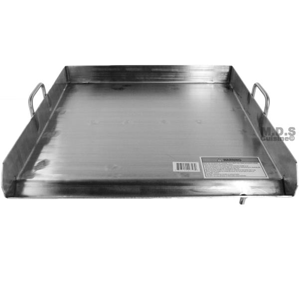 thermador stainless steel griddle cover made full solid thick heavy highest corrosion wear includes flat top grill topper
