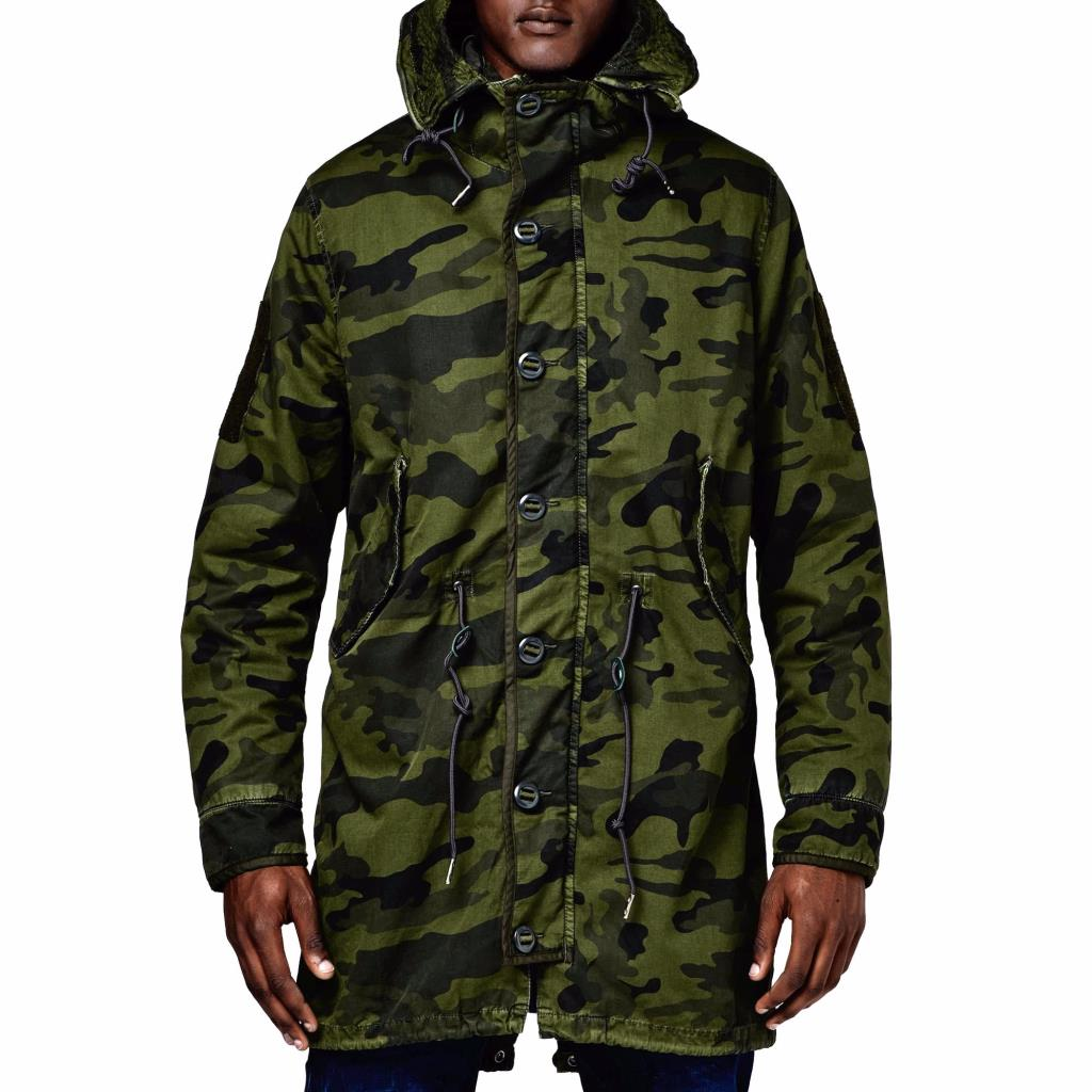 g star raw parka jacket army hood camo coat military. Black Bedroom Furniture Sets. Home Design Ideas