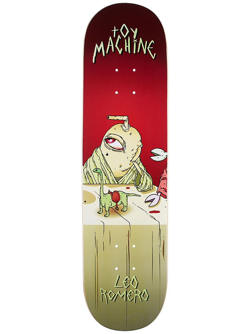 Toy Machine Skateboard Deck Romero Last Supper 8.125 Pro 1 of 8 FREE POST & FREE GRIP