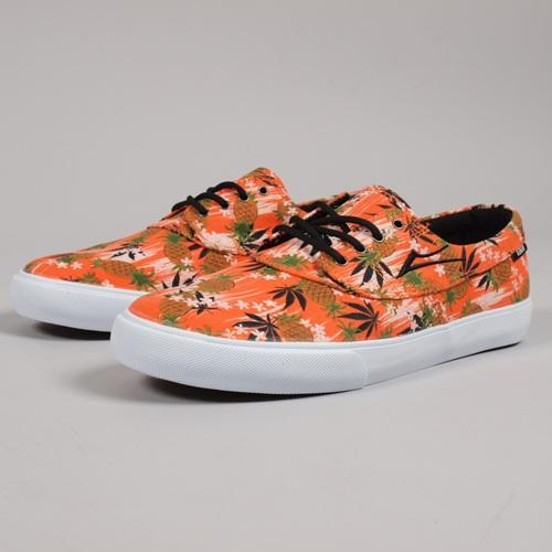 Lakai Shoes Camby x FTC Pineapple Kush Orange Canvas US SIZE FREE POST New Skateboard Sneakers