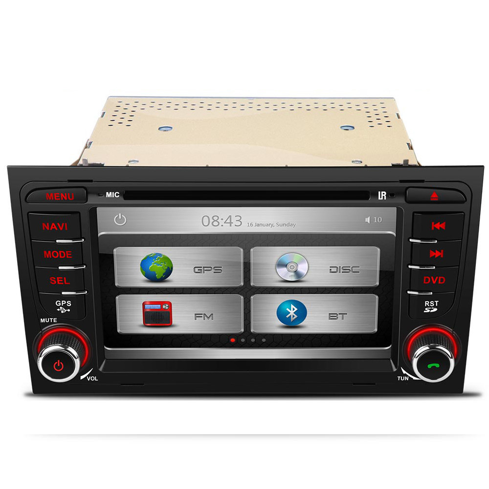 audi a4 seat exeo stereo dab digital radio kudos satnav gps bose dvd head unit ebay. Black Bedroom Furniture Sets. Home Design Ideas