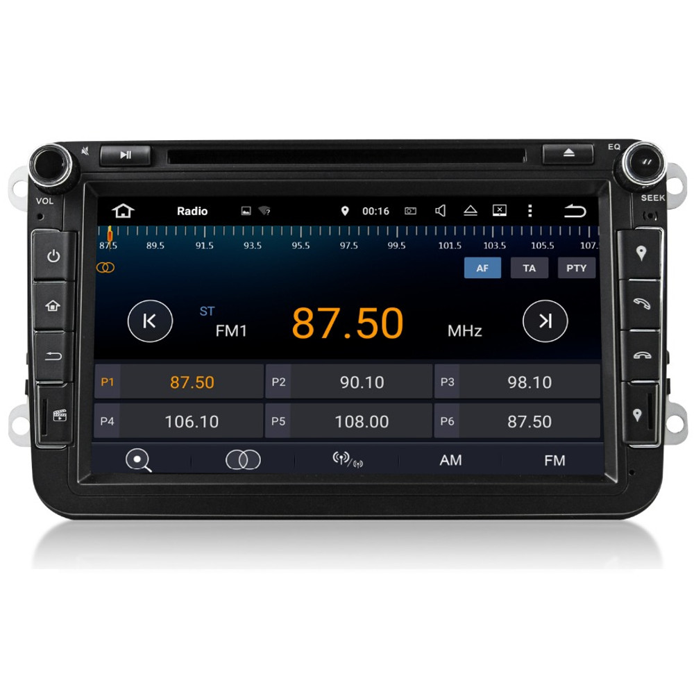 8 vw golf mk5 mk6 android 5 1 quad core head unit radio. Black Bedroom Furniture Sets. Home Design Ideas