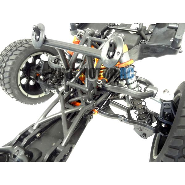 1 5 Scale King Motor Rc T1000a Roller Truck Clear Body Hpi