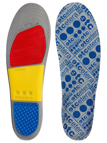 Etcetera Insoles Primo Lo Pro OSFA FREE POST New ETC for Skateboard Bmx Shoes