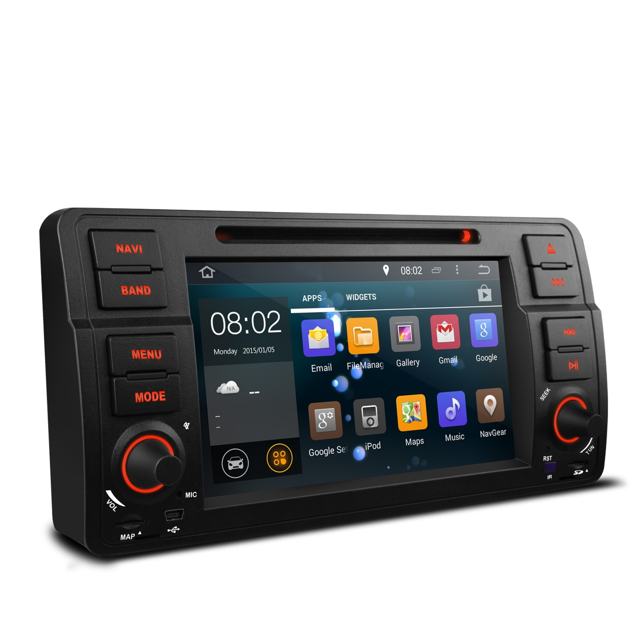 bmw 3 series e46 android 5 1 head unit radio stereo bt. Black Bedroom Furniture Sets. Home Design Ideas