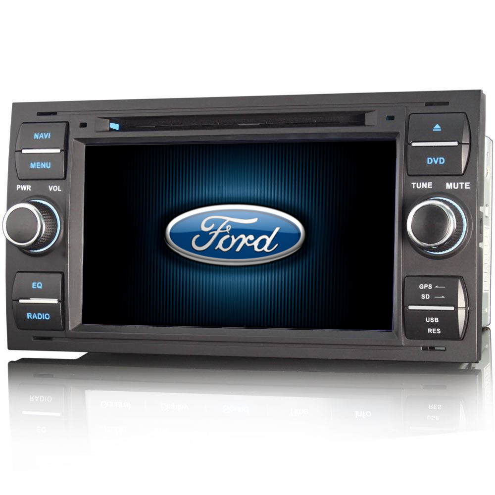 ford fiesta mk6 6000 cd 7 hd stereo gps sat nav internet. Black Bedroom Furniture Sets. Home Design Ideas