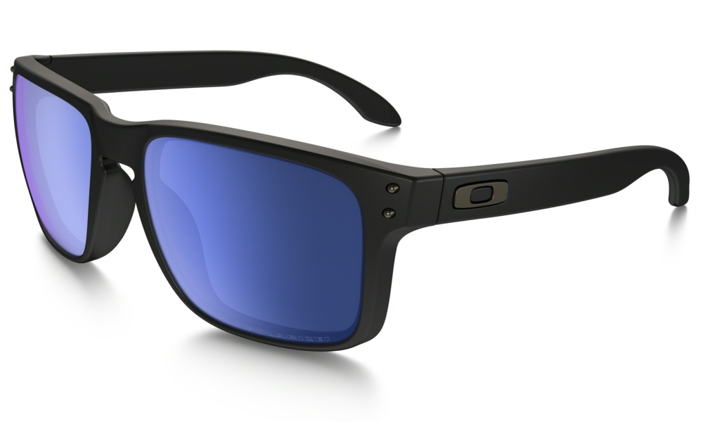 Oakley Shades Holbrook Matte Black Ice Iridium Polarized glasses Skateboard Surf Bmx Sunglasses FREE POST eyewear