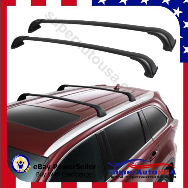 Toyota Carrier Sub Assy Rr Partnumber 4230520240: For 14-17 Up Toyota Highlander XLE Top Roof Rack Luggage