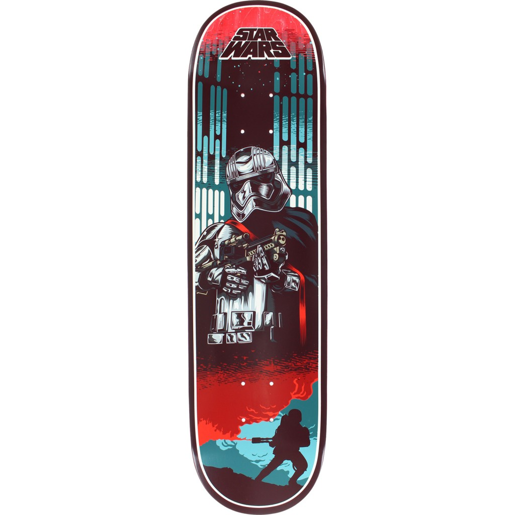 Santa Cruz Skateboards x Star Wars Captian Phasma 8 New Free Post & Grip