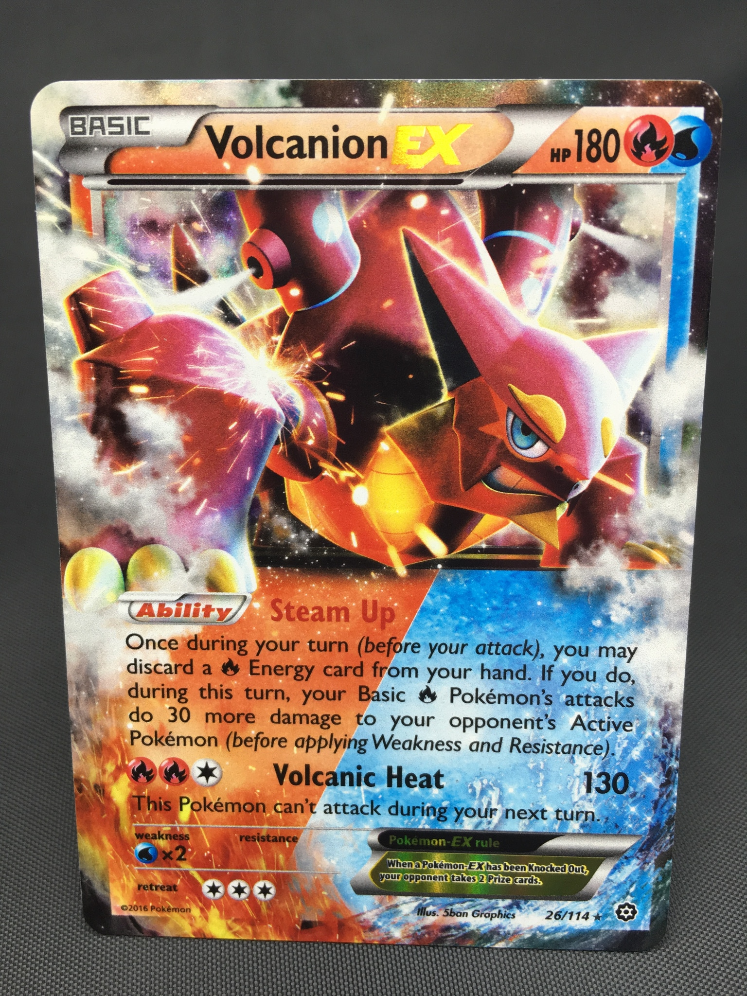 pokemon legends how to get volcanion