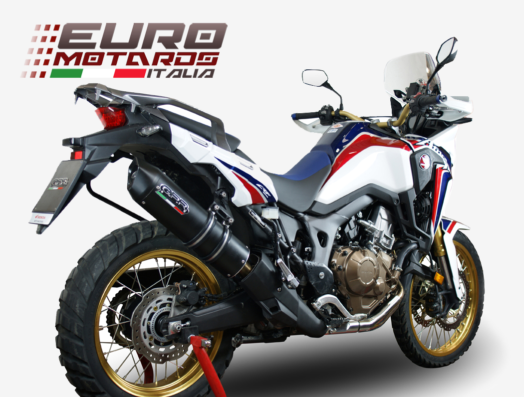 honda crf 1000 l africa twin 2015 2016 gpr exhaust. Black Bedroom Furniture Sets. Home Design Ideas
