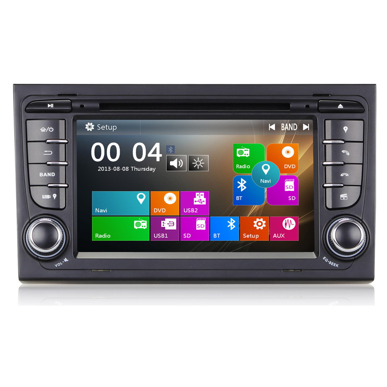 seat exeo st direct fit head unit radio stereo canbus gps