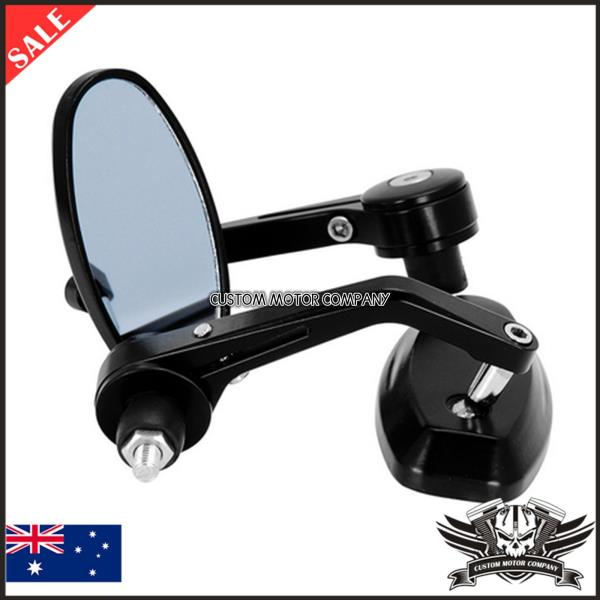 Alloy Black Motorcycle Bar End Mirrors 7 8 Quot Ducati Monster