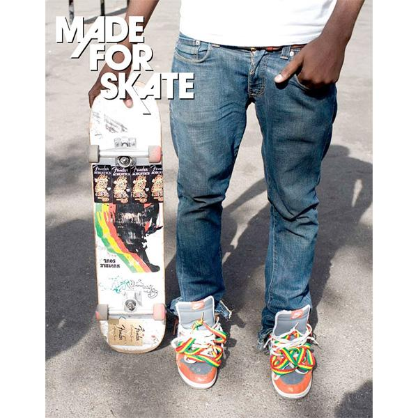 Made for Skate: The Illustrated History of Skateboard Footwear Book