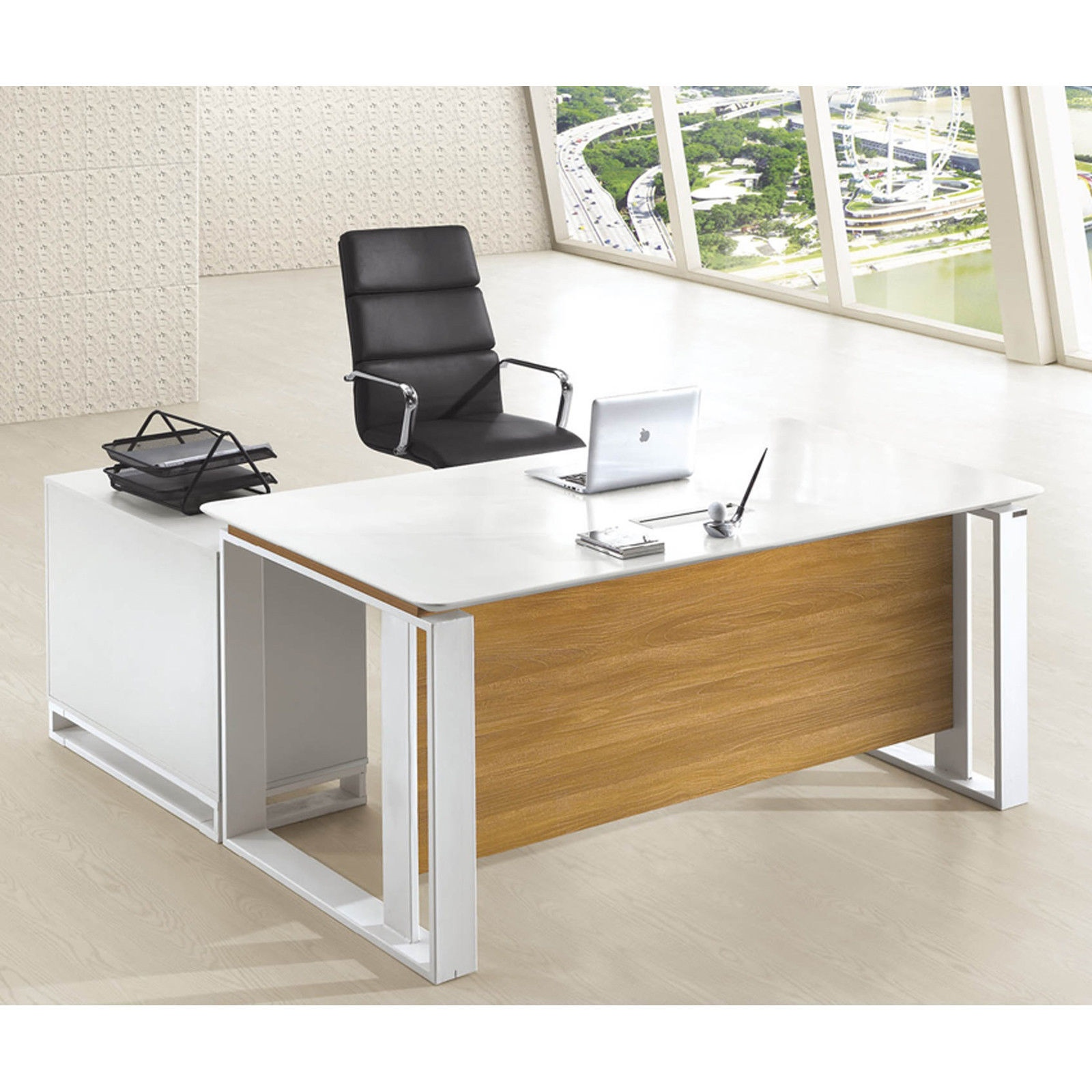 Executive Office Furniture: Modern Executive Office Furniture Computer Table Desk W