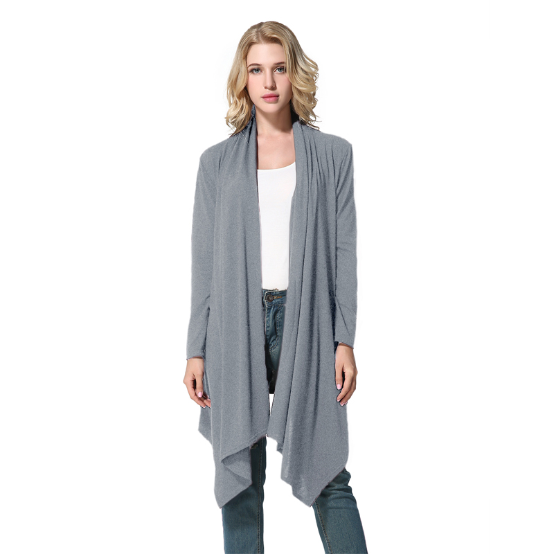 Women Long Maxi Cardigan Sweater Coat Knit Open Front Draped ...