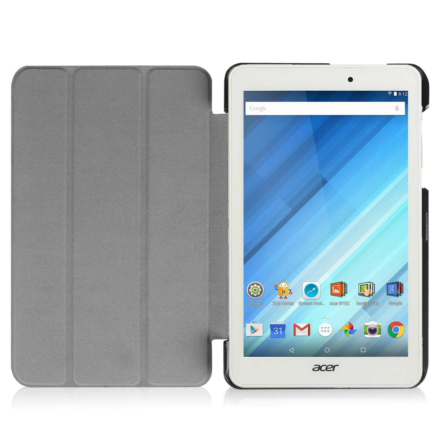 Smart Ultra Thin Leather Case Cover For ACER Iconia One B1 ...