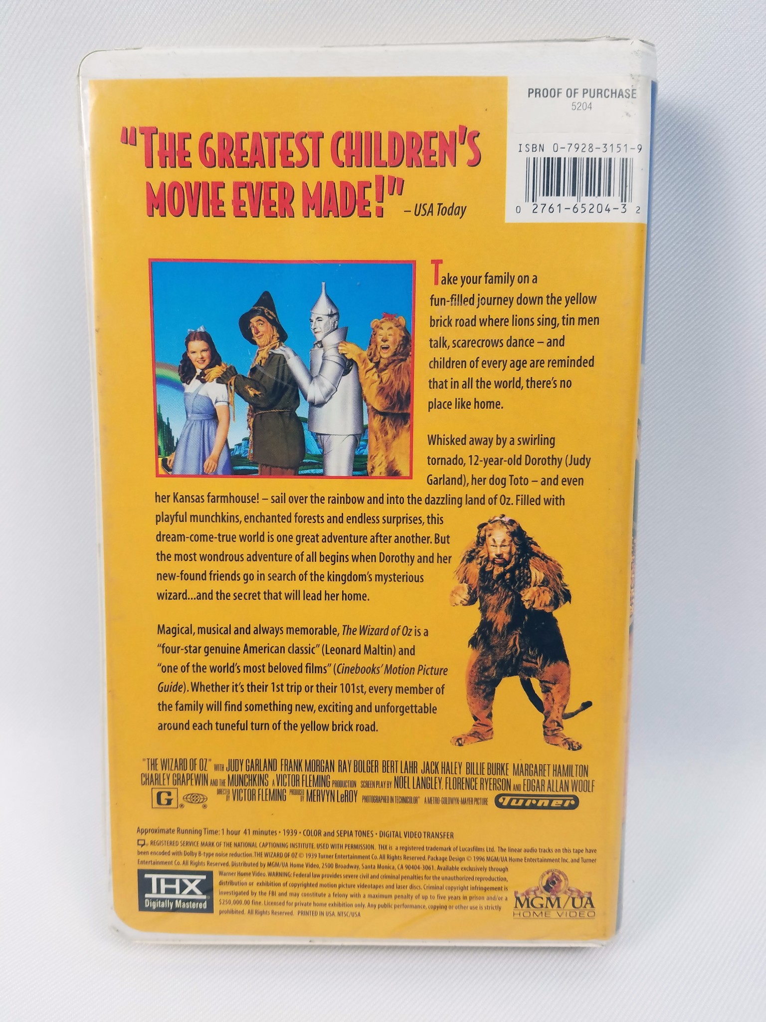 Mgm 1996 vhs youtube D...A Christmas Story Vhs 1996