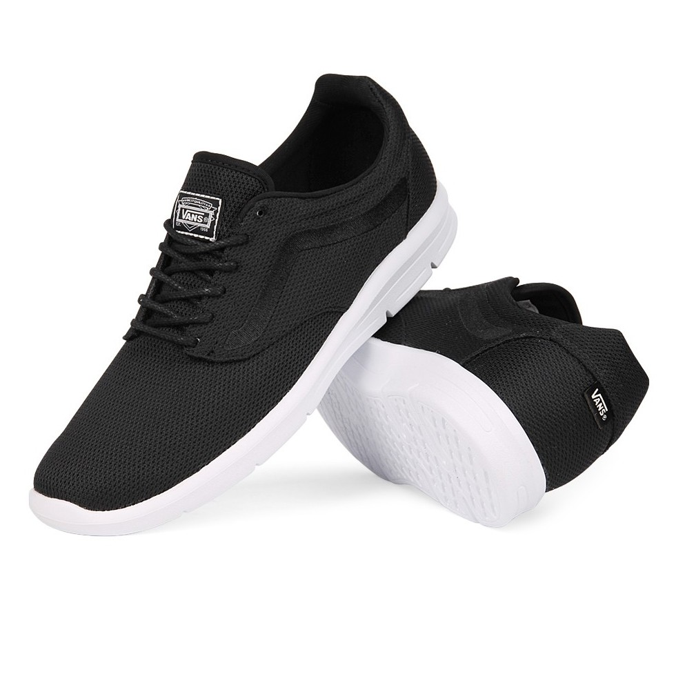 Vans Shoes ISO 1.5+ Mesh Black UltraCush Sole New FREE POST