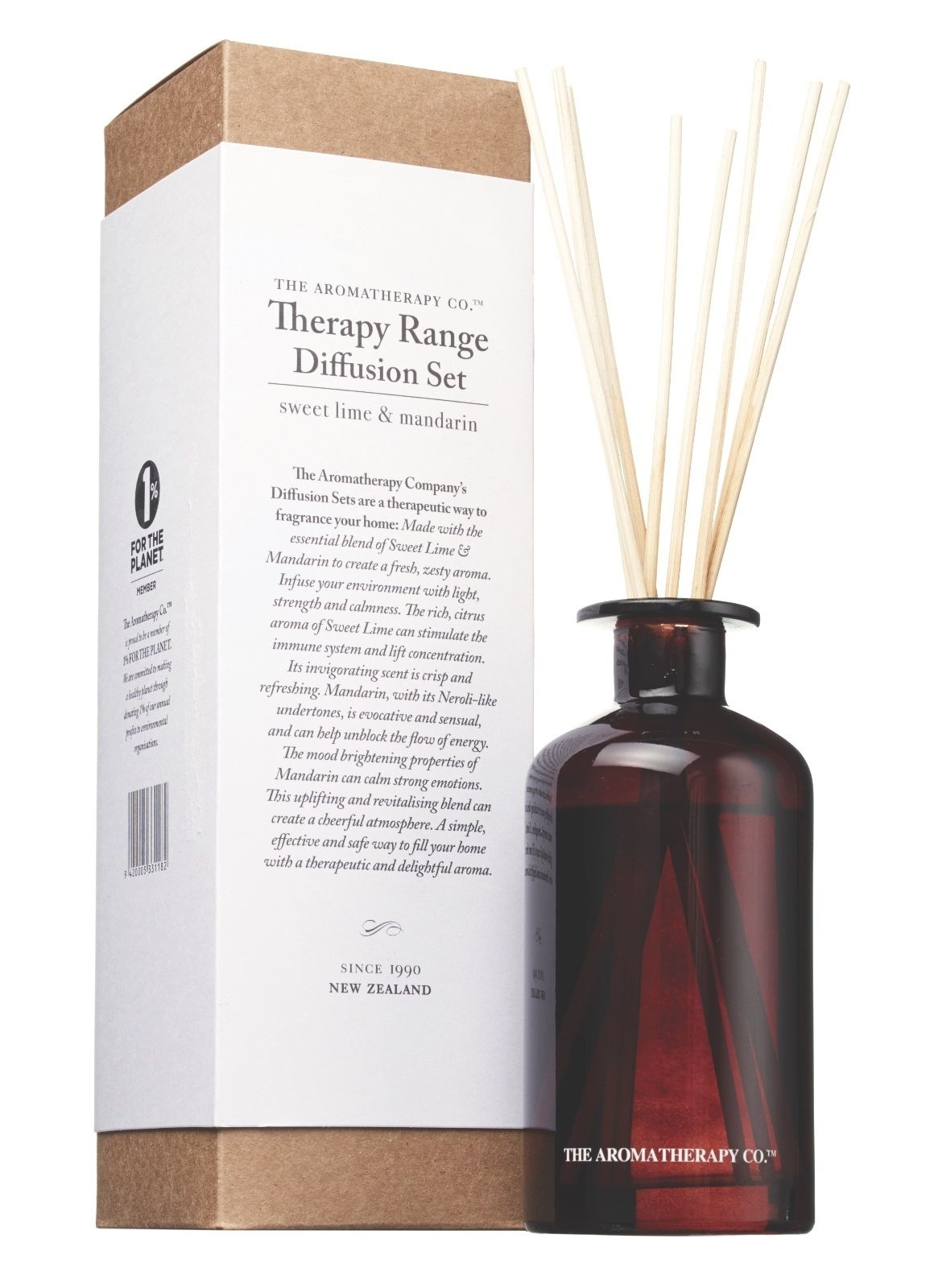 #90643B Aromatherapy Co. Reed Diffuser Set Sweet Lime & Mandarin  Most Effective 1175 Aromatherapy Diffuser Set pictures with 1160x1600 px on helpvideos.info - Air Conditioners, Air Coolers and more