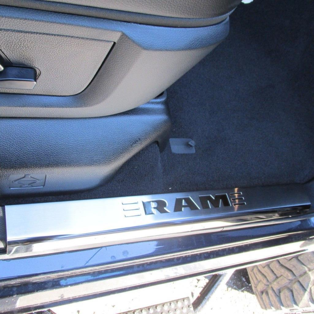 Dodge Ram Front Amp Rear Stainless Steel Door Entry Sill
