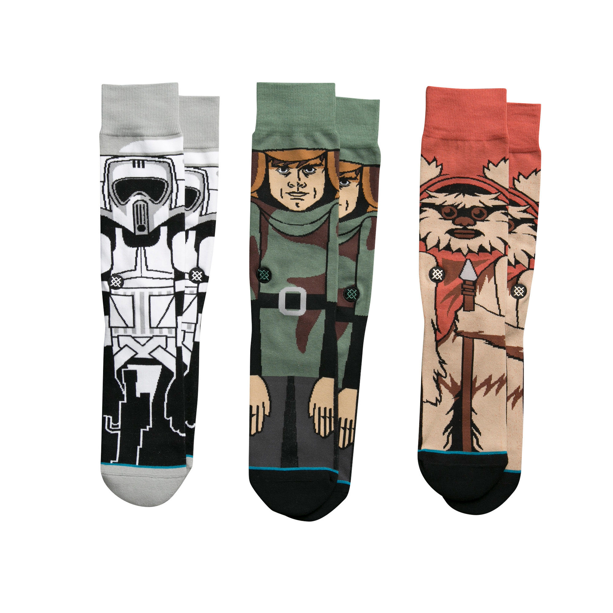 Stance x Star Wars Socks 3 Pack Gift Box Return Of The Jedi SIZE L Movie Sox Set