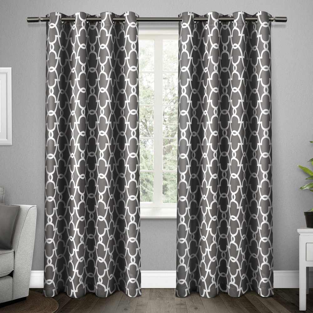 New Set 2 Curtains Panels Drapes 63 84 96 108 In Blackout