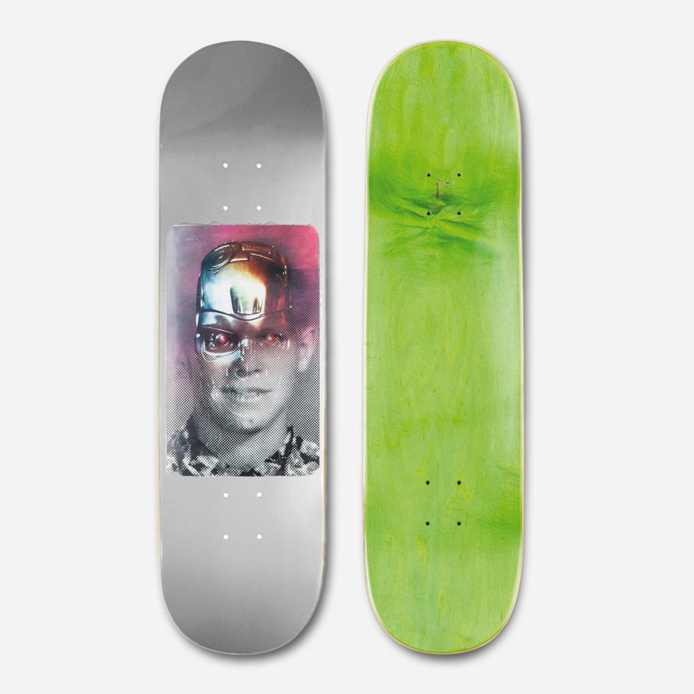Fucking Awesome Skateboard Deck AVE 8.375 Silver Terminator Anthony Van Engelen