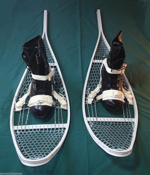 NEW US Military * Magnesium SNOWSHOES With Bindings * 48