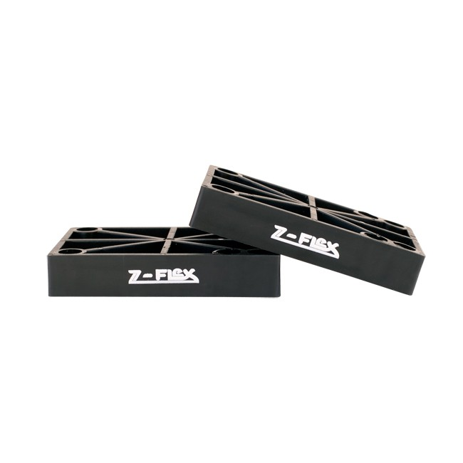 Z-Flex Skateboards Riser Pads for 14mm Longboards & Old School Cruisers Set of 2