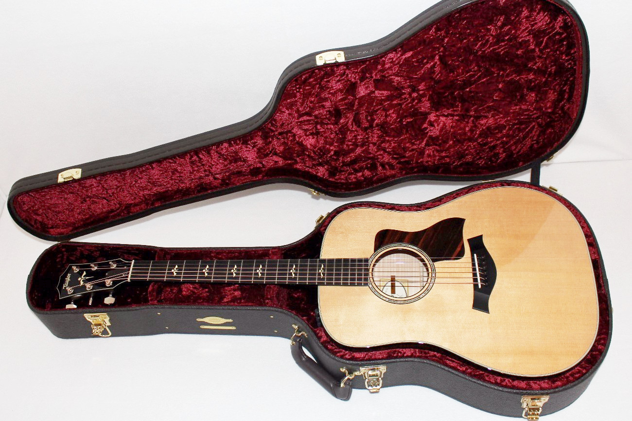 taylor 610e dreadnought acoustic electric guitar w case ebay. Black Bedroom Furniture Sets. Home Design Ideas
