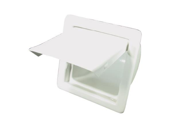 Bla toilet roll holder recessed 139004 club outdoors - Recessed toilet roll holder ceramic ...