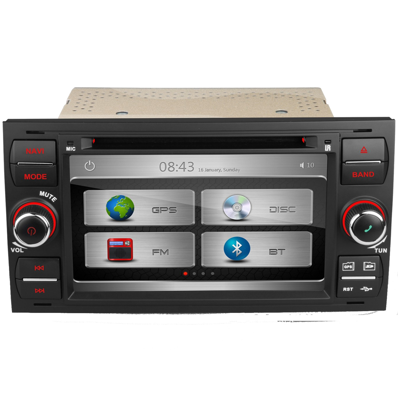 ford fiesta mk6 transit mk7 dab digital radio kudos satnav. Black Bedroom Furniture Sets. Home Design Ideas