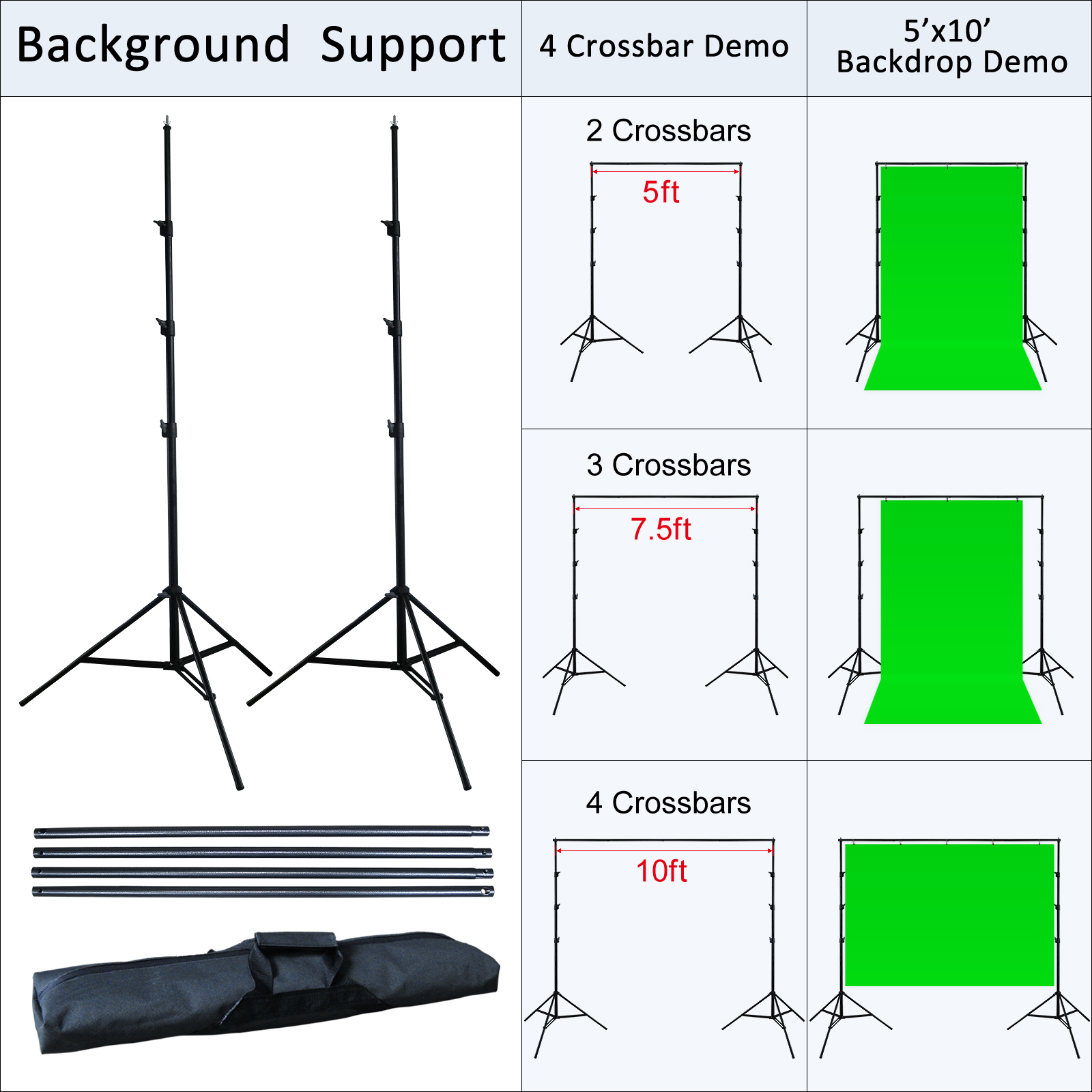 Linco Lincstore Complete Studio Lighting Backdrop Stand Background Lig u2013 Linco Inc.  sc 1 st  Linco Inc. : backdrop and lighting kit - www.canuckmediamonitor.org