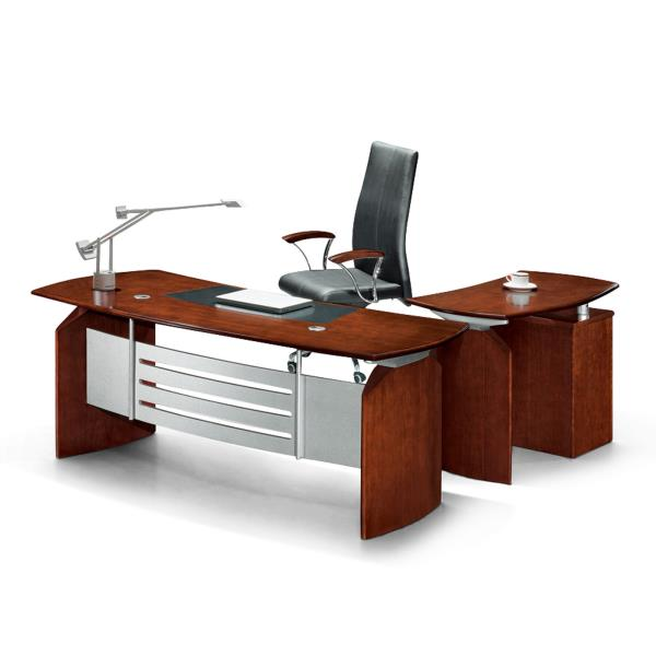 Www Modern Furniture: Modern Executive Office Computer Desk W/ Drawers Return