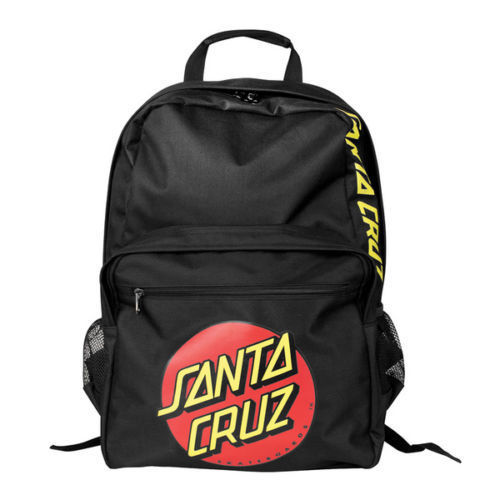 Santa Cruz Backpack Classic Dot FREE POST New Skateboard Surf Bmx School Bag